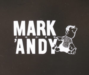 Mark Andy's first logo.