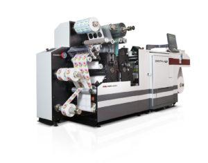 A Mark Andy digital printer.