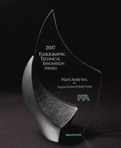 A photo of Mark Andy's 2017 FTA Award