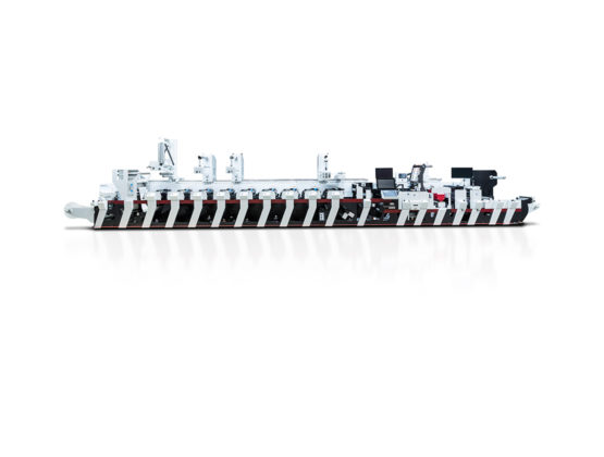 Flexographic Printing Press Image