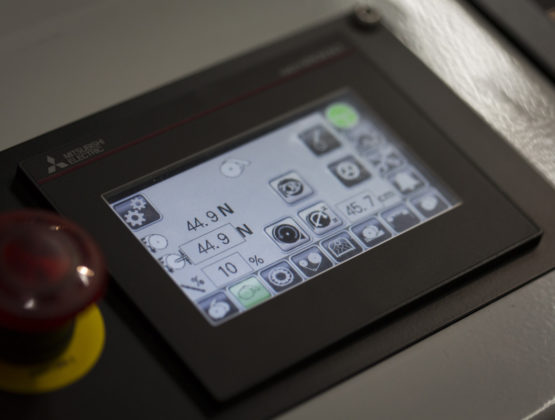 automatic mark to measure register control system