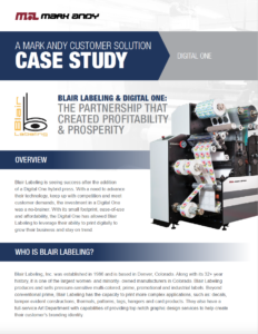 Blair Labeling Case Study