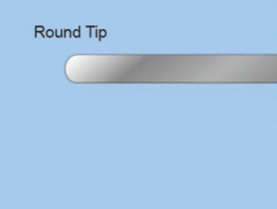 Round Tip Doctor Blade