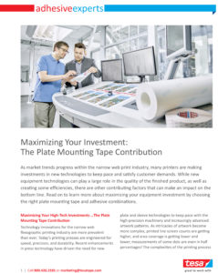 Tesa White Paper on Mounting Tape