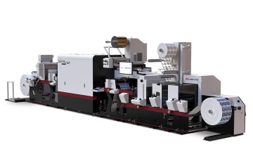 digital hybrid inkjet label press